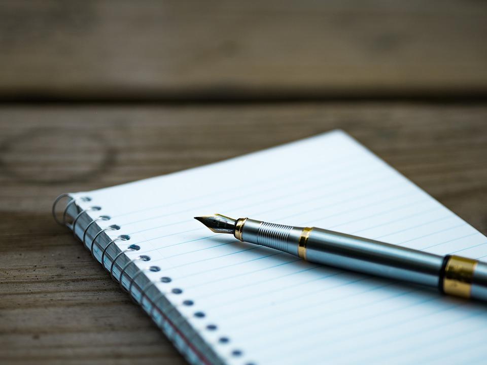 ブログに必要な内容を書き出し&並び替え中